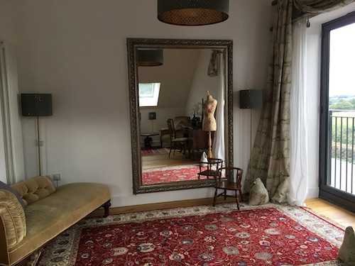 Large mirror in Leveret Suite