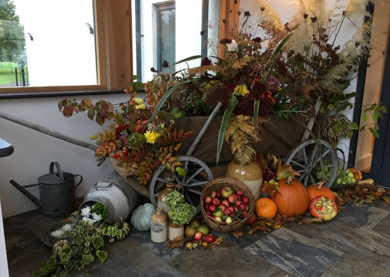 Autumn Display at Harefield Barn