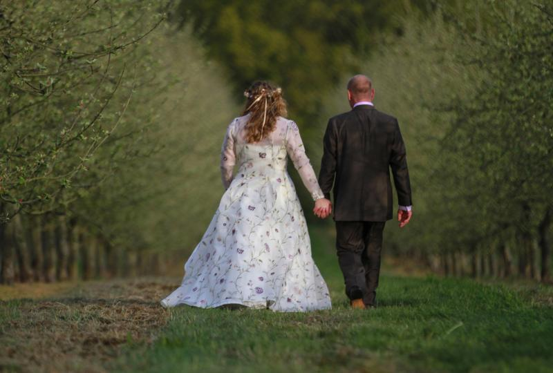 Early Spring  Wedding Harefield Barn
