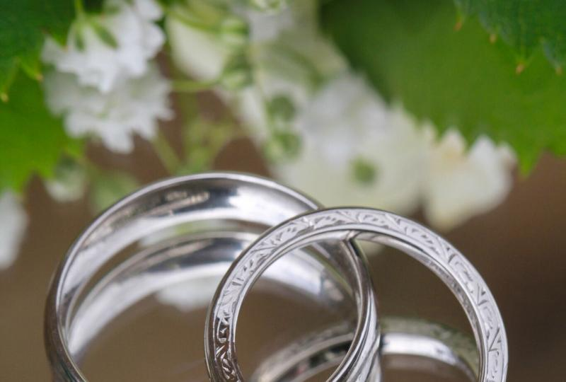 'His and Hers' wedding rings